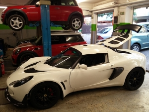 LOTUS EXIGE S300 SUPERCHARGER